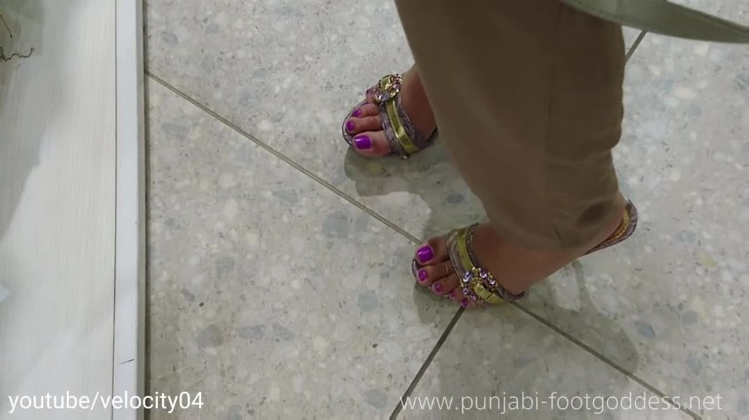 Punjabi Goddess - Those sexy mules again