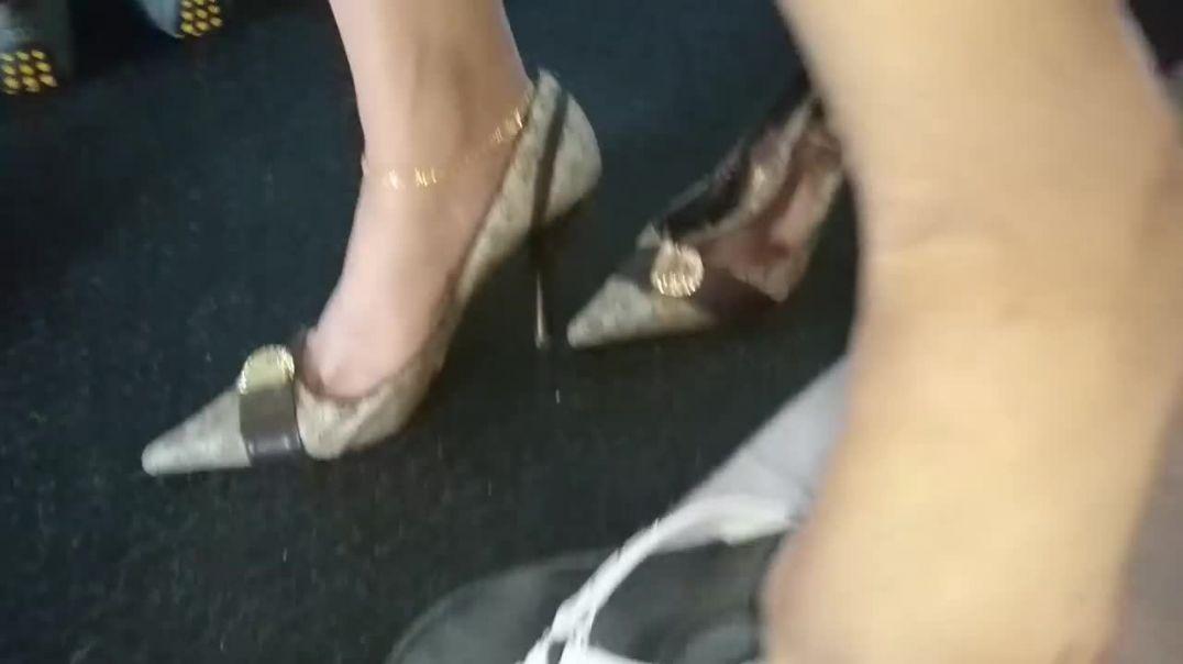 Punjabi Goddess - pointy pumps after work