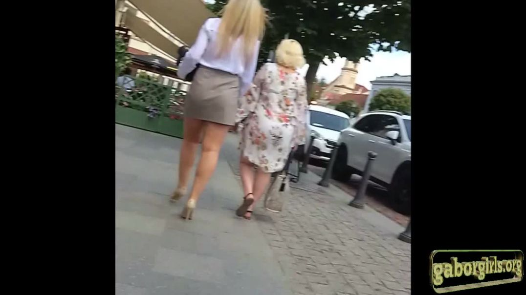 Cute Blonde from Lithuania with sexy Legs by Legster