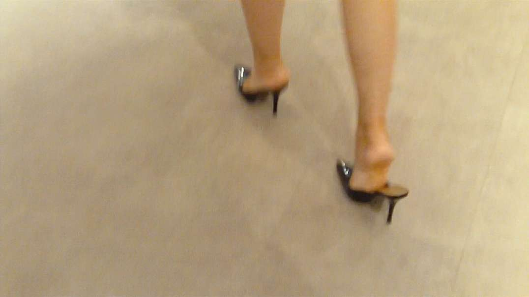 Pumps Mules (11cm) (3) in Shopping Mall