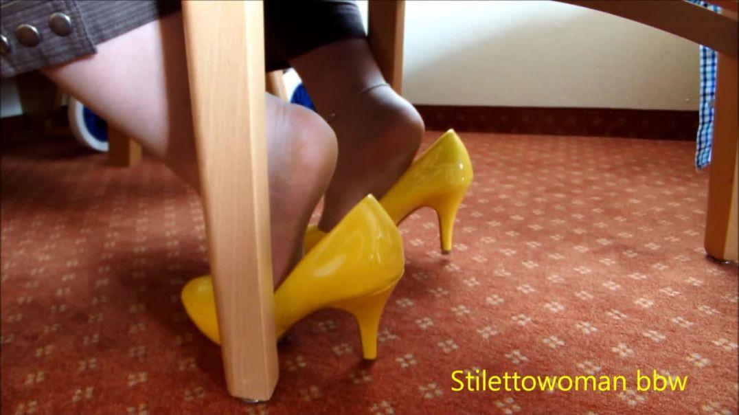 klassik Pumps shoeplay , popping