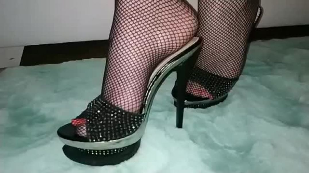 Hot Mules and Fishnet Pantyhose