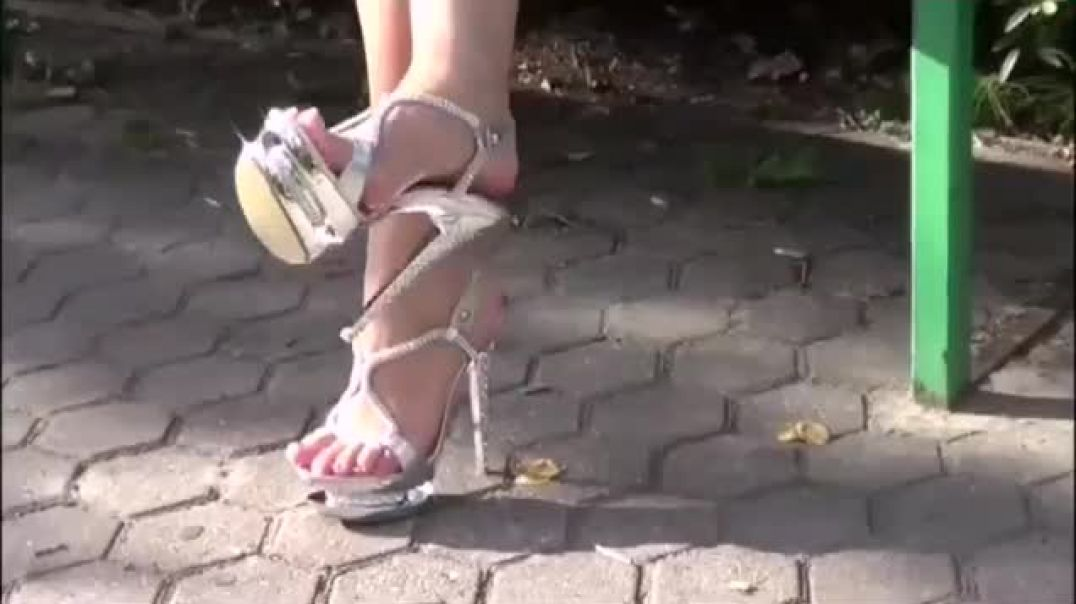 A walk in the Park - Sexy Glamour Highheel Sandals